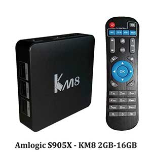 KM8 Android TV-boks